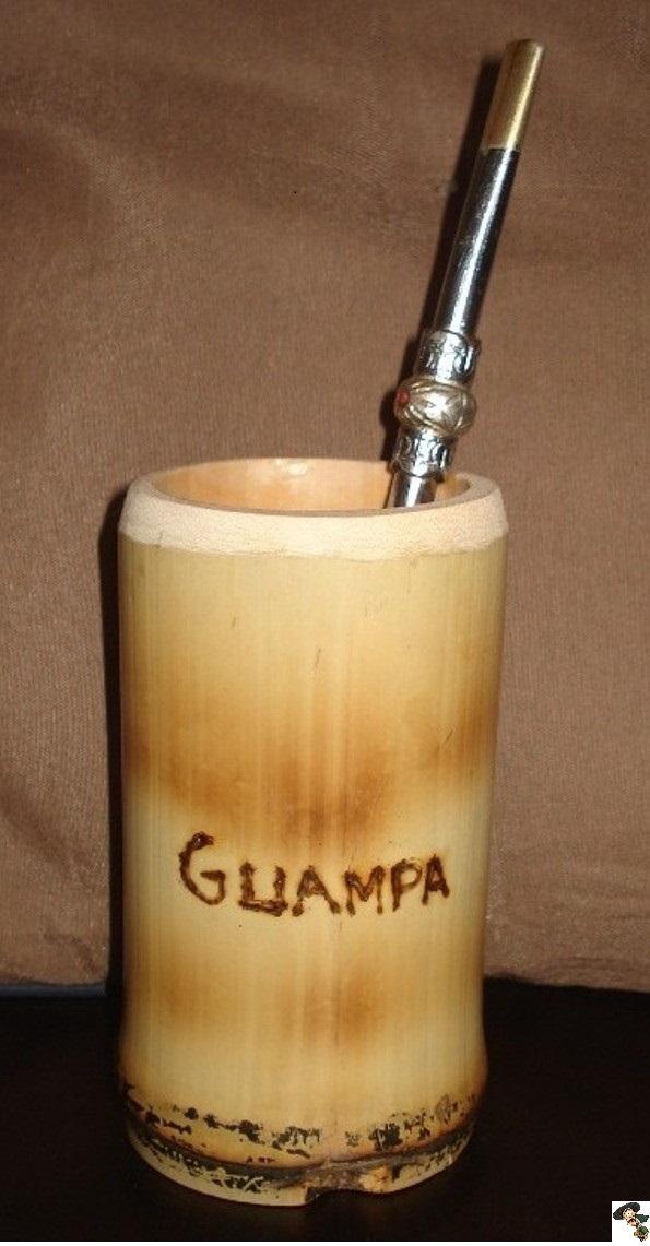 guampa de bambu